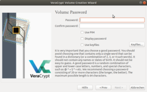 VeraCrypt Password